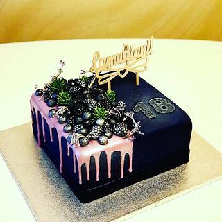 18th #birthdaycake