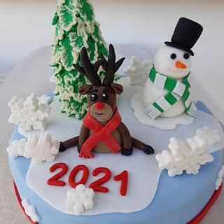 New Year's Cake - Cake by Rena Kostoglou