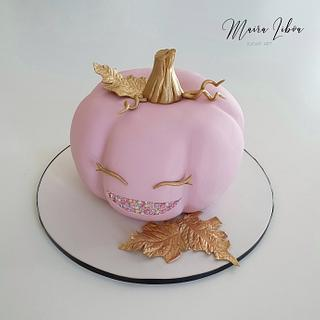 Pink pumpkin - Cake by Maira Liboa