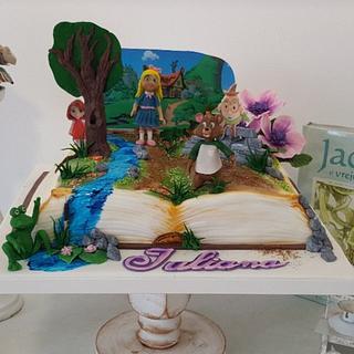 Book cake. - Cake by Torturi Mary