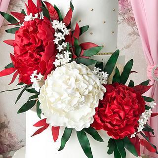Extravangant wedding cakes.