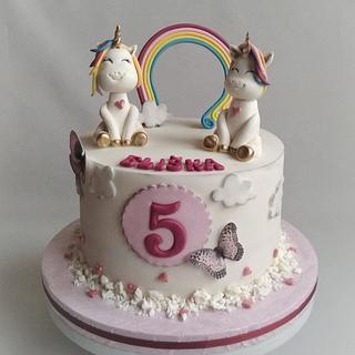 Unicorn cake - Cake by Jitkap