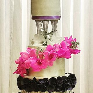 Wedding cake ❤️❤️ - Cake by Occasions Cakes