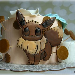Eevee sugar cookie