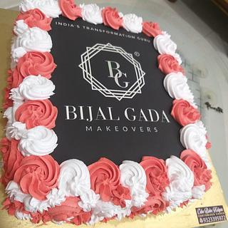 Photo cake for BIJALGADA MAKEOVERS