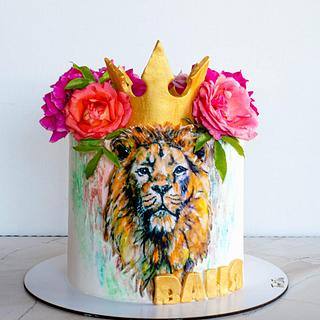 Lion cake - Cake by TortIva