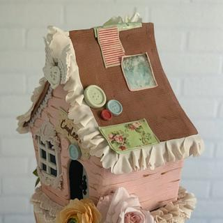 Shabby chic decoration - Cake by Dsweetcakery