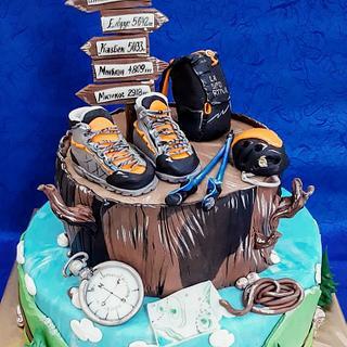 Mountaineer cake