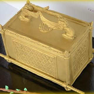 Ark of the Covenant - Bible cakes collaboration - Cake by Konstantina - K & D's Sweet Creations