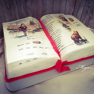 Spelling-book - Cake by Maja Motti