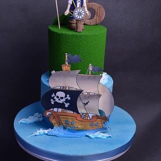 Pirate Jack cake