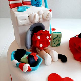 Houswife  - Cake by Azra Cakes