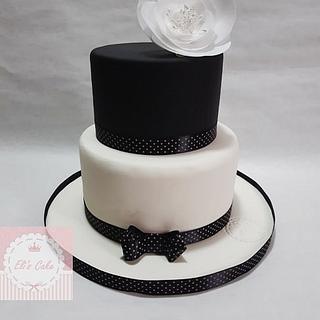 Black and White Cake - Cake by Elisabetta Pepe