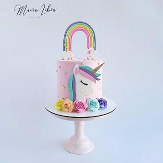Unicorn - Cake by Maira Liboa