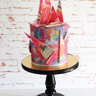 Funky  - Cake by Signature Cake By Shweta