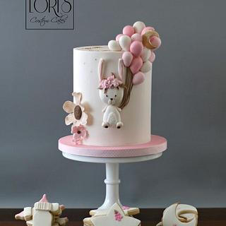 Baby Shower Bunny Cake