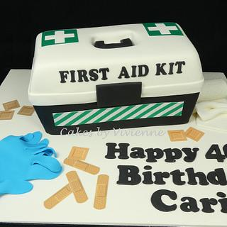 First Aid Cake - Cake by Cakes by Vivienne