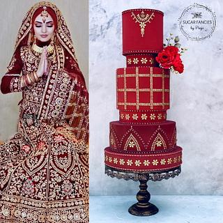 Islamic Bridal Cake
