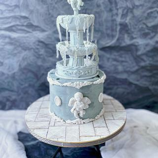 The French Story - Cake by Debjani Mishra
