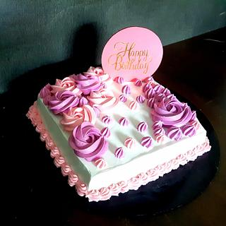 Birthday Cake  - Cake by Amys bayked bouquett