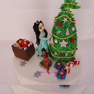 Christmas party - Cake by Umme Kulsum
