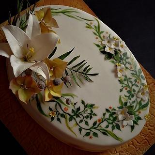 Birthday cake - Cake by babkaKatka