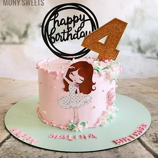Girl cake - Cake by Monysweets
