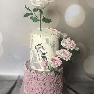 Golf romance - Cake by Renatiny dorty