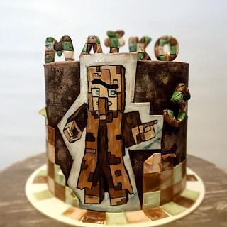 Minecraft - Cake by SojkineTorty