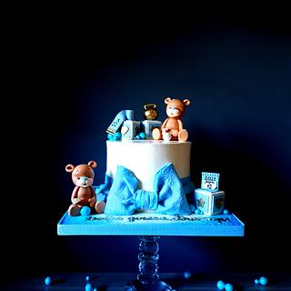 Welcome baby cuteness  - Cake by Radoslava Kirilova (Radiki's Cakes)