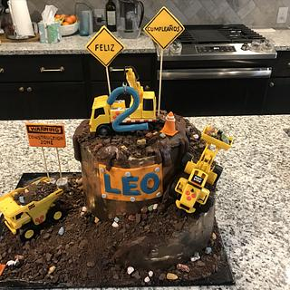 Construction/Digger Birthday