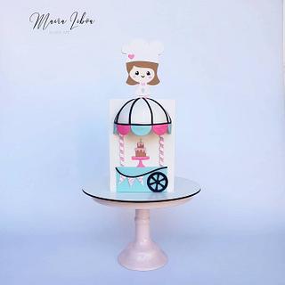 Pastry chef - Cake by Maira Liboa