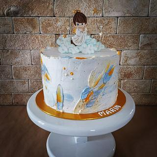 Christening cake - Cake by Cakes_bytea