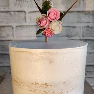 Semi-Naked cake - Cake by Tandeep