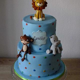 Animals for a little boy - Cake by Janeta Kullová
