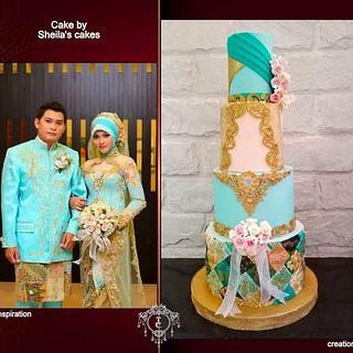 Couturecaker 2020 Islamic wedding dress