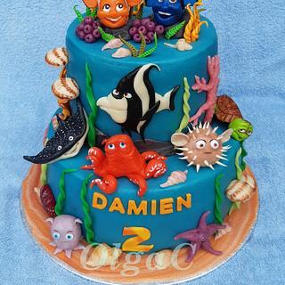 Sea cake - Cake by OlgaC