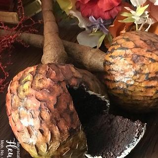 """""""Custard Apple Fruit"""" Cake"""
