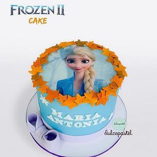 Torta Frozen en Medellín realizada por Dulcepastel.com - Cake by Dulcepastel.com