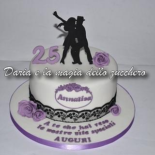 Caraibic dance cake
