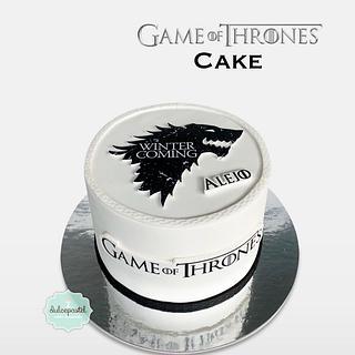 Torta de Game Of Thrones en Medellín