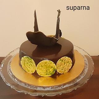 Pure Chocolate cake  - Cake by Suparna