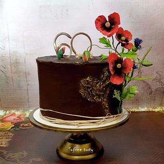 Meadow flowers cake:) - Cake by SojkineTorty