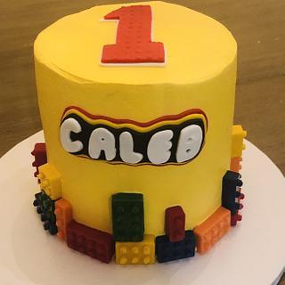 Lego birthday cake - Cake by MerMade