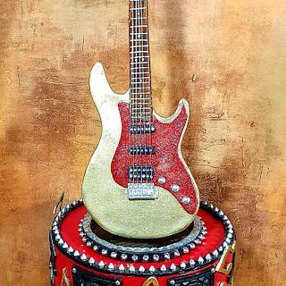 Wedding cake guitar