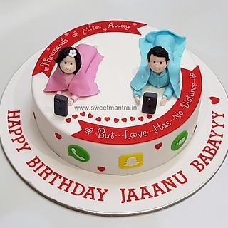 Outstanding Husband Birthday Cake 19 Cakes Cakesdecor Funny Birthday Cards Online Fluifree Goldxyz
