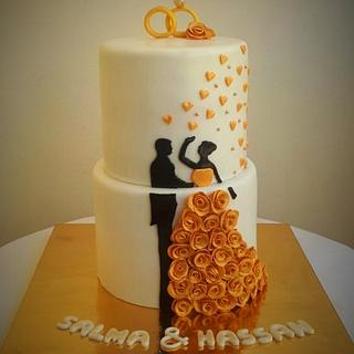 Wedding cake - Cake by Maysa