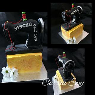 Cake Sewing Machine - Cake by Ewa