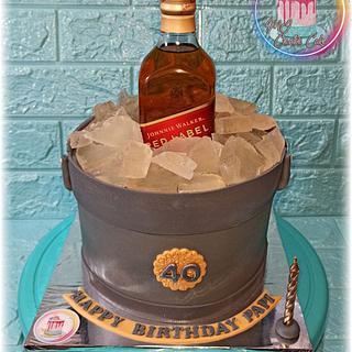 Wine Cake  - Cake by Mj Creative Cake by jlee