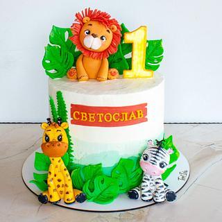 Jungle cake - Cake by TortIva